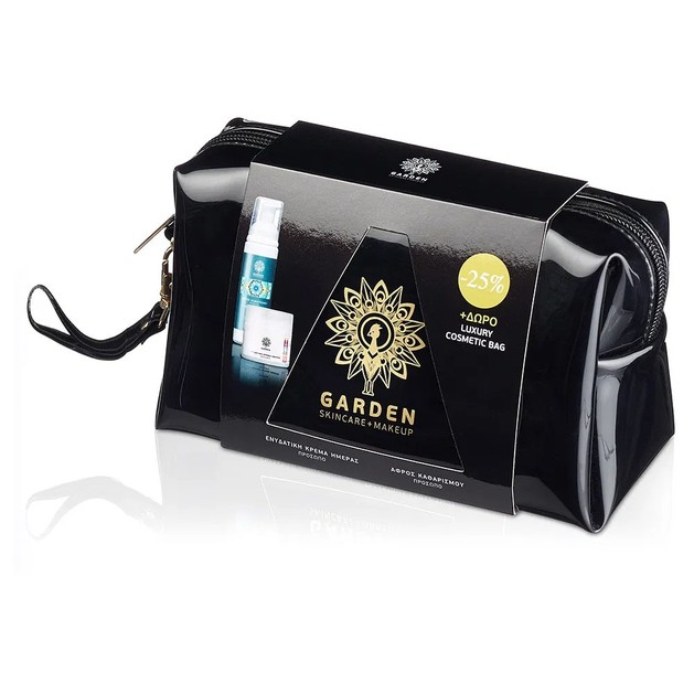 Garden of Panthenols Ενυδατική Κρέμα Ημέρας Spf15, 50ml & & Απαλός Αφρός Καθαρισμού Προσώπου Ματιών 100ml Promo -25%