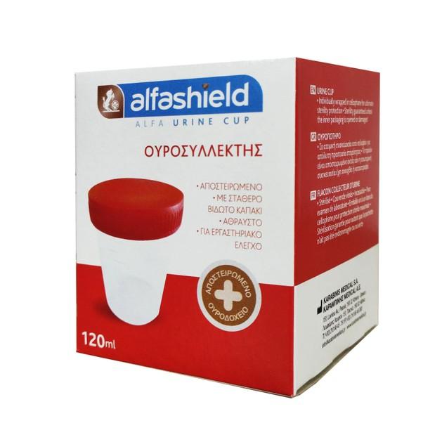 Alfa Urine Cup Δοχείο Συλλογής Ούρων Αποστειρωμένο 1 Τεμάχιο
