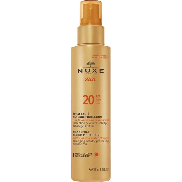 Nuxe Sun Spray Lacte Spf20,150ml Promo -20%