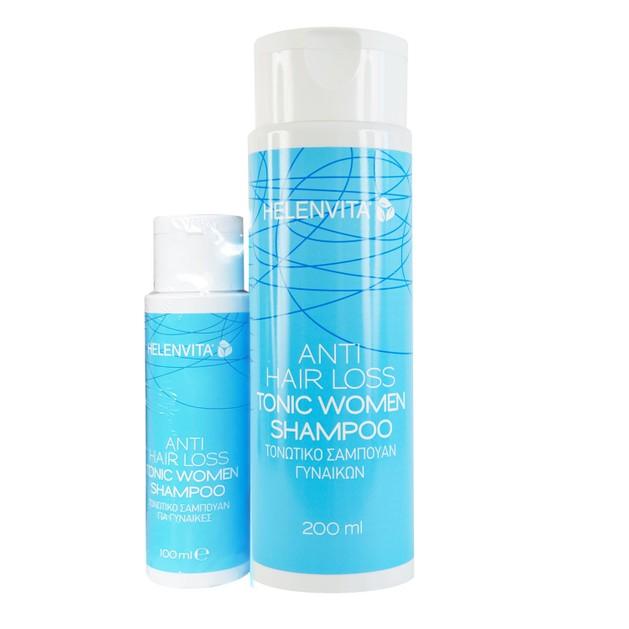Helenvita Πακέτο Προσφοράς Anti-Hair Loss Tonic Women Shampoo 200ml & Δώρο Επιπλέον Ποσότητα 100ml
