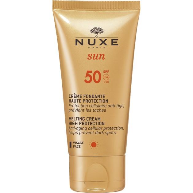 Sun Face Cream Spf50, 50ml Promo -20% - NUXE