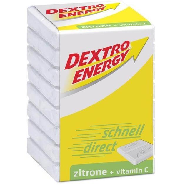 Dextro Energy Lemon Ταμπλέτες Δεξτρόζης με Γεύση Λεμόνι, 46gr / 8 tabs