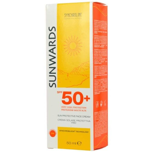 Synchroline Sunwards Αντηλιακό Προσώπου Spf50 50ml