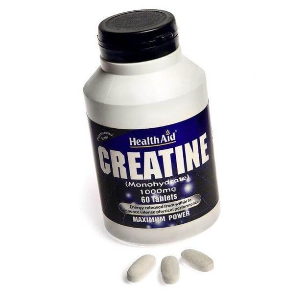 Health Aid Creatine Monohydrate 1000mg 60tabs