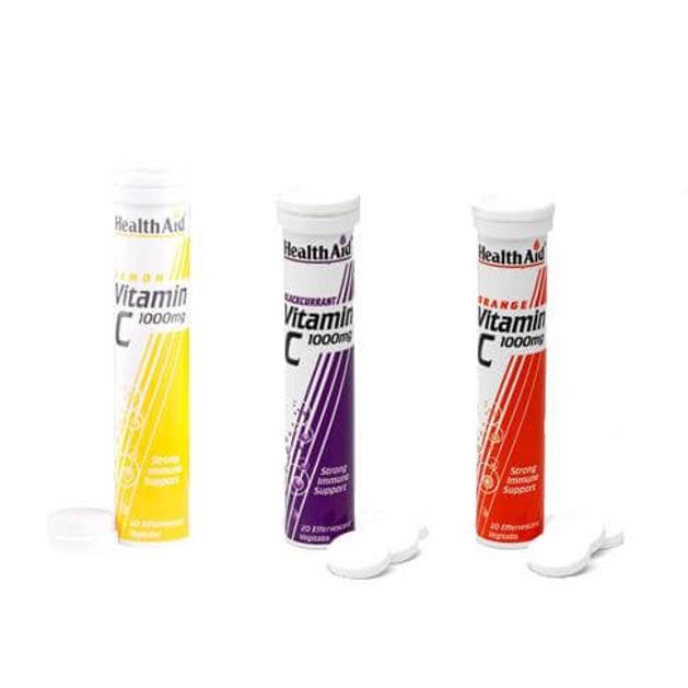 Health Aid Vitamin C 1000mg 20eff.tabs