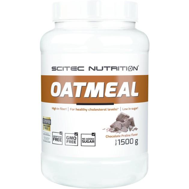 Scitec Nutrition Oatmeal Συμπλήρωμα Διατροφής Υψηλής Περιεκτικότητας σε Φυτικές Ίνες 1500g