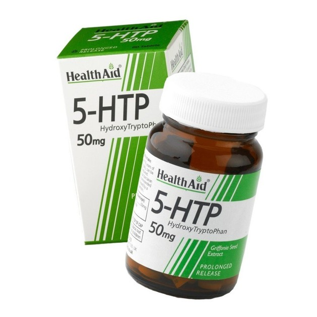 Health Aid 5-HTP Hydroxy TryptoPhan 50mg 60tabs