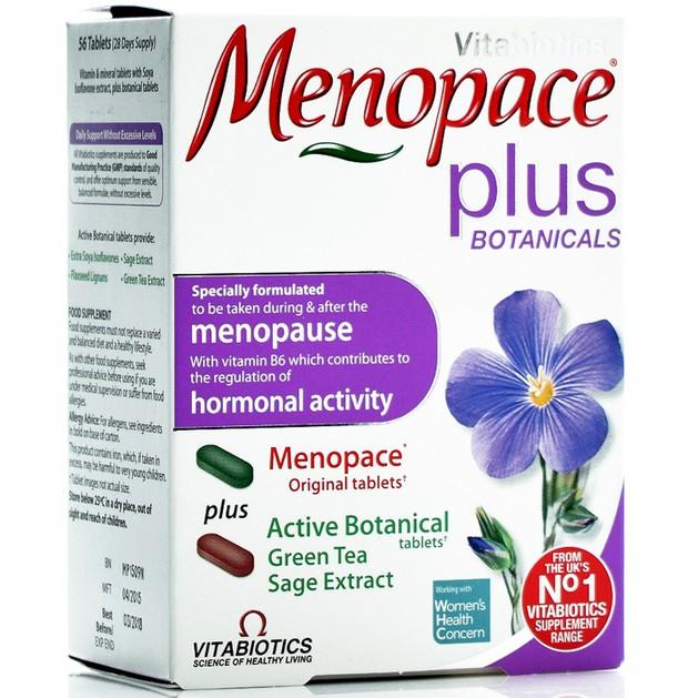Menopace Plus 56tabs - Vitabiotics
