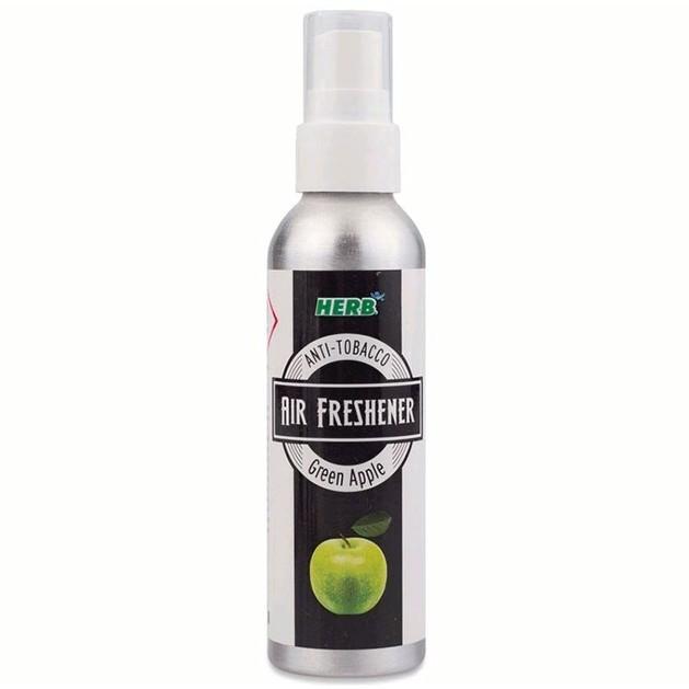 Vican Herb Air Freshener Green Apple Αποσμητικό Χώρου που Εξουδετερώνει την Οσμή του Τσιγάρου με Άρωμα Πράσινο Μήλο, 75ml