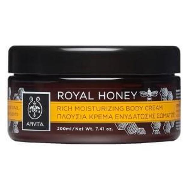 Apivita Royal Honey Rich Moisturizing Body Cream 200ml
