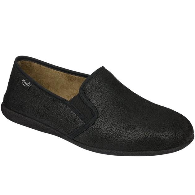Scholl Shoes Deneb Μαύρο Ανδρικές Ανατομικές Παντόφλες με Ειδική Επένδυση Εξαιρετικά Άνετες, Εύκαμπτες & Απαλές 1 Ζευγάρι