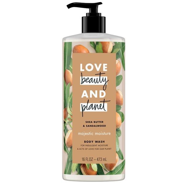 Love Beauty & Planet Shower gel Shea Butter & Sandalwood oil 500ml
