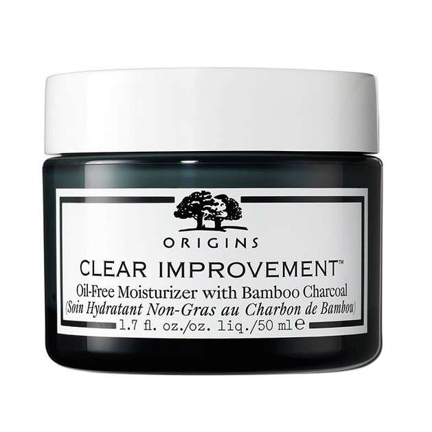 Origins Clear Improvement Oil-Free Moisturizer With Bamboo Charcoal Μη Λιπαρή Ενυδατική Κρέμα, Απορροφά το Περίσσιο Σμήγμα 50ml