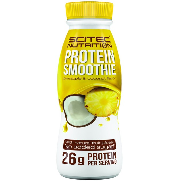 Scitec Nutrition Protein Smoothie Pineapple & Coconut Flavor Smoothie Πρωτεΐνης Χωρίς Προσθήκη Ζάχαρης 330ml