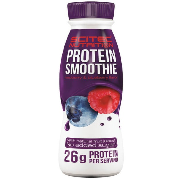 Scitec Nutrition Protein Smoothie Raspberry & Blueberry 330ml