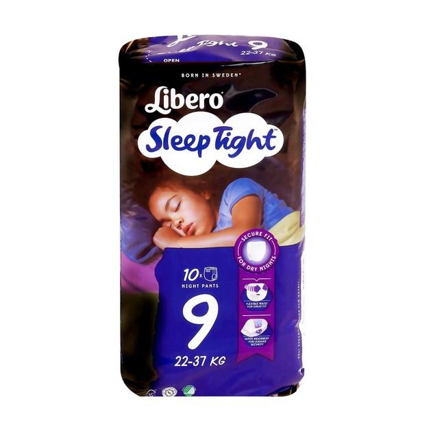 Libero Sleep Tight Πάνες Νύχτας με Ενισχυμένη Απορροφητικότητα 22-37kg 10τμχ