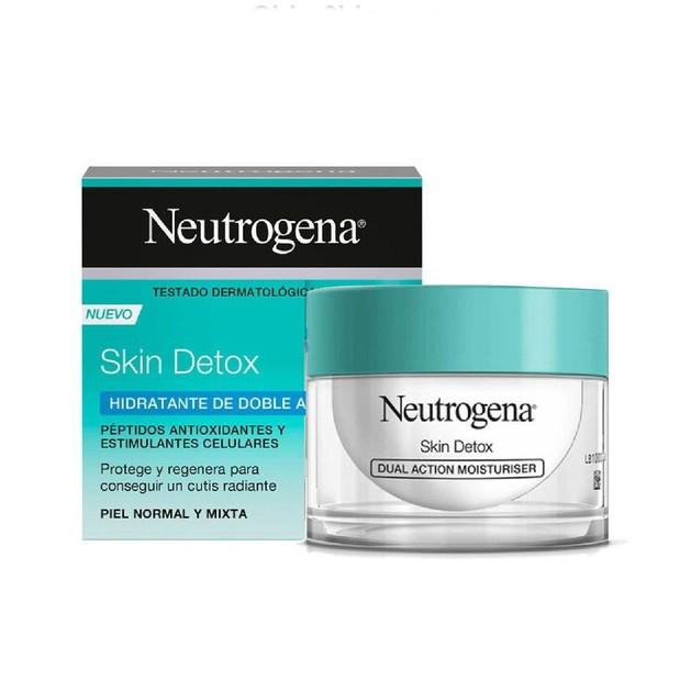 Neutrogena Skin Detox Dual Action Moisturiser Ενυδατική Κρέμα προσώπου Διπλής Δράσης 50ml