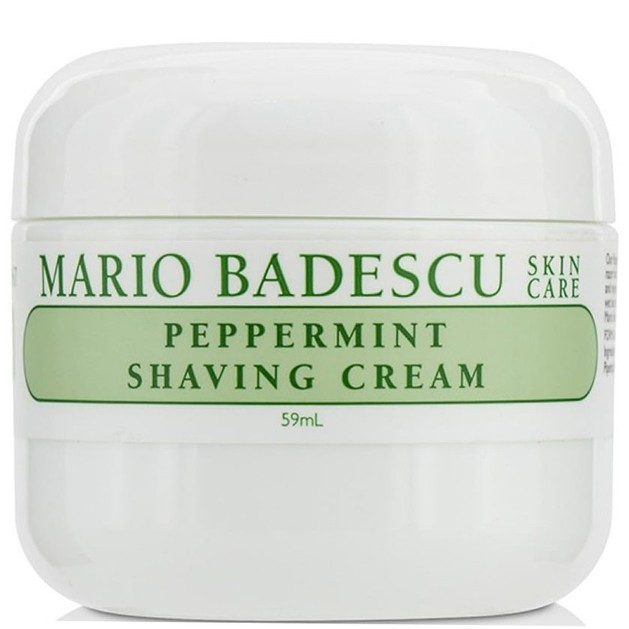 Mario Badescu Peppermint Shaving Cream Λεπτή Κρέμα για το Ξύρισμα, Απαλή Επιδερμίδα με Δροσερή Αίσθηση Δυόσμου 59ml