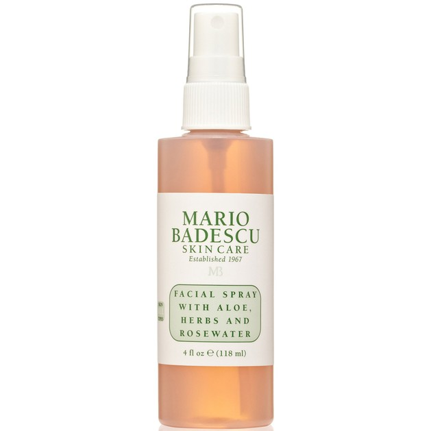 Mario Badescu Facial Spray With Aloe, Herbs and Rosewater Αναζωογονητικό Spray Προσώπου, Ιδανικό για Ανανέωση Μακιγιάζ 118ml