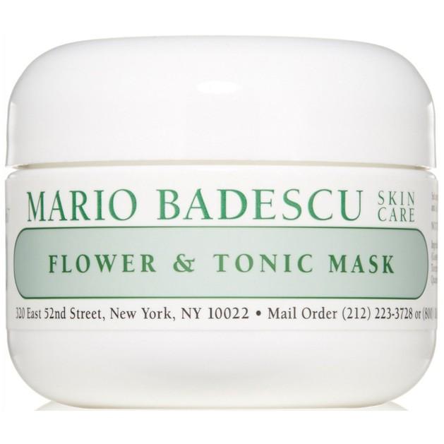 Mario Badescu Flower & Tonic Mask Απαλή, Καθαριστική Μάσκα Προσώπου που Απορροφά την Λιπαρότητα & τη Γυαλάδα 59ml