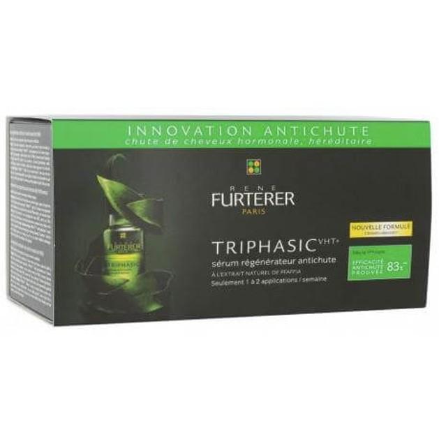 Rene Furterer Triphasic Vht Serum Αναζωογονητικός Ορός Κατα της Τριχόπτωσης 8 Fl * 5,5 ML Nf 44 ml