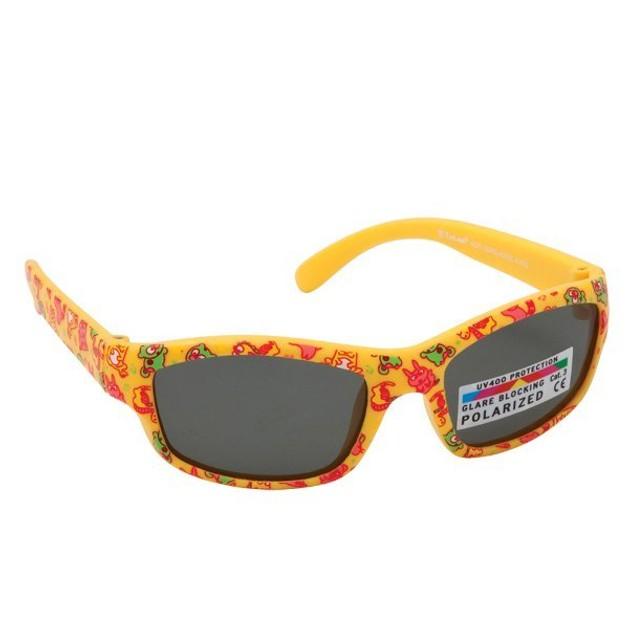 EyeLead Γυαλιά Ηλίου Παιδικά με Κίτρινο Σκελετό K1005