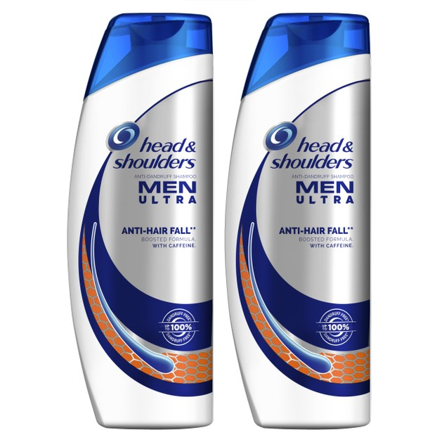 Head & Shoulders Πακέτο Προσφοράς Men Ultra Anti-Hair Fall Shampoo Σαμπουάν Κατά της Πιτυρίδας & της Τριχόπτωσης 2x360ml 1+1Δώρο