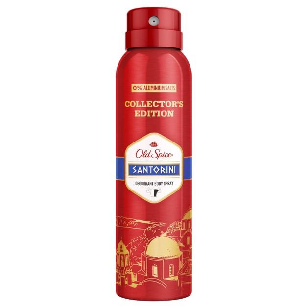 Old Spice Santorini Deodorant Body Spray Αποσμητικό Σπρέι Σώματος για Άνδρες 150ml