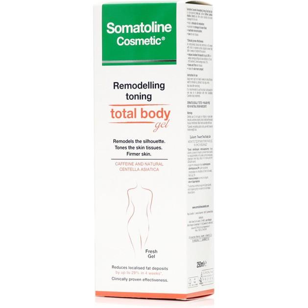 Somatoline Cosmetic Remodelant Tonifiant Total Body Gel Φροντίδα Σμίλευσης της Σιλουέτας & Σύσφιξης του Δέρματος 250ml