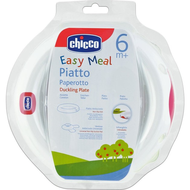 Chicco Πιάτο με Βεντούζα 6m+ 1τμχ