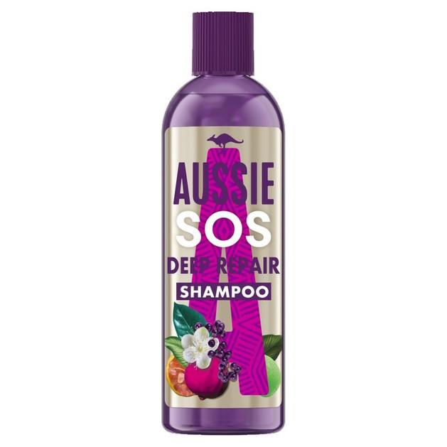 Aussie SOS Deep Repair Shampoo Σαμπουάν για Βαθιά Αναδόμηση των Μαλλιών 290ml