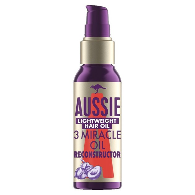 Aussie 3 Miracle Oili Reconstructor Lightweigtht Hair Oil Λάδι Αναδόμησης Μαλλιών 100ml