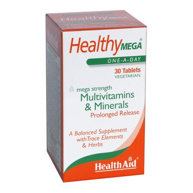 Health Aid Healthy Mega 30tabs