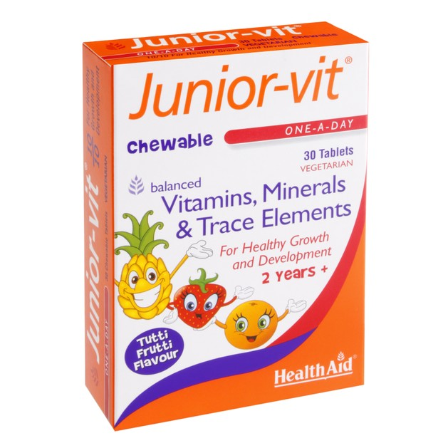 Health Aid Junior-Vit 30tabs