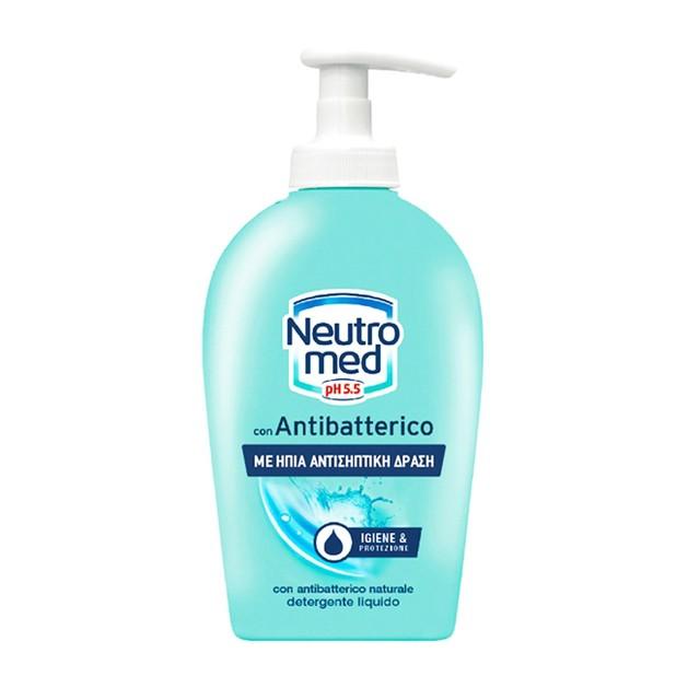 Neutromed Liqiud Soap Antibacterial Κρεμοσάπουνο Χεριών με Φυσικά Αντιβακτηριακά & Γλυκερίνη 300ml