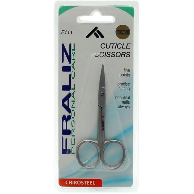 Fraliz F111 Cuticle Scissors Ψαλιδάκι για Πετσάκια Καμπυλωτό 1 Τεμάχιο
