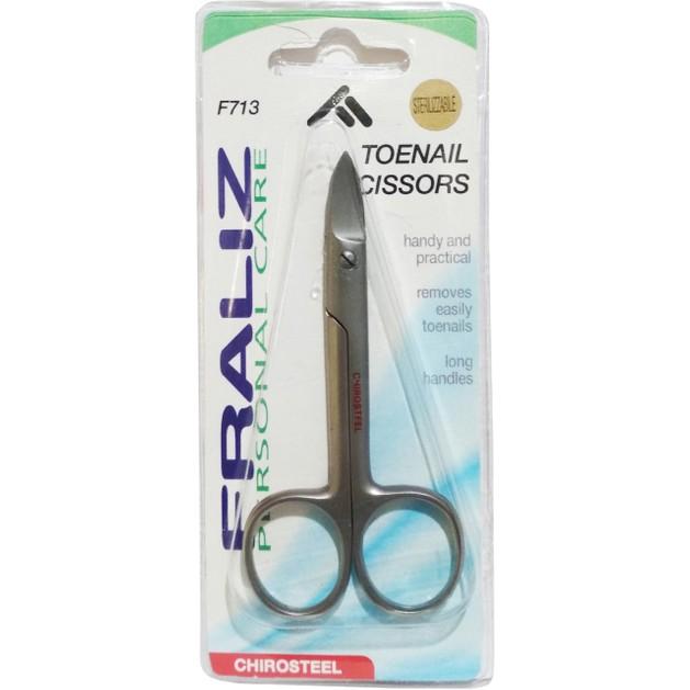 Fraliz F713 Toenail Scissors Ψαλίδι για Νύχια Ποδιών 1 Τεμάχιο