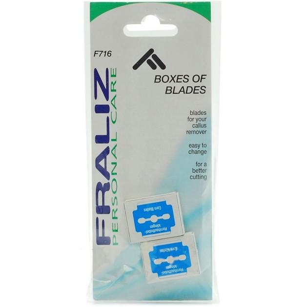 Fraliz F716 Boxes of Blades Ανταλλακτικές Λεπίδες για το Αφαιρετικό Κάλων 2 Κουτάκια των 10 Λεπίδων