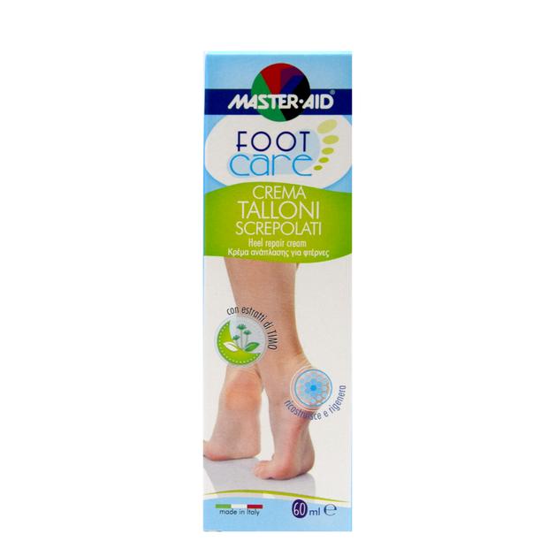Master Aid Foot Care Κρέμα Ανάπλασης για Φτέρνες 60ml