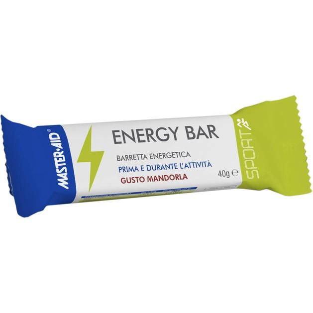 Master Aid Energy Bar Gusto Madrola Μπάρα Ενέργειας με Γεύση Αμυγδάλου 40gr