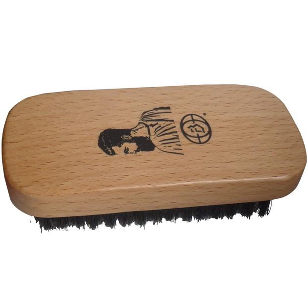 Barbers Beard Brush Βούρτσα Χτενίσματος Γενειάδας με Ξύλινη Λαβή 1 Τεμάχιο