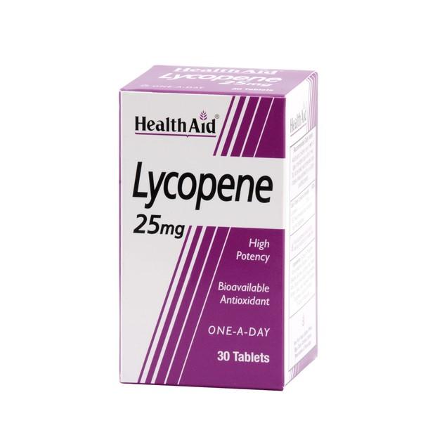 Health Aid Lycopene 25 mg 30tabs