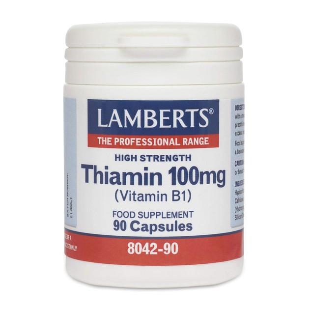 Lamberts Thiamin 100mg 90 caps