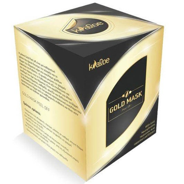 Δώρο Kaloe Gold Mask Peel Off Χρυσή Μάσκα για Σύσφιξη & Λάμψη με Εκχύλισμα Φύλλων Haberlea 50ml