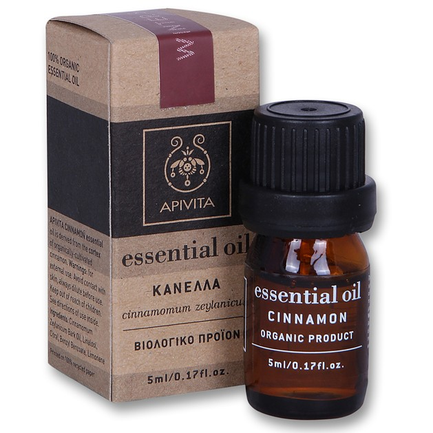 Apivita Essential Oil Cinnamon Kανέλα 5ml