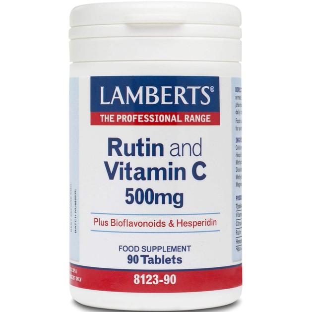 Rutin & C & Bioflavonoids 90 tabs - Lamberts