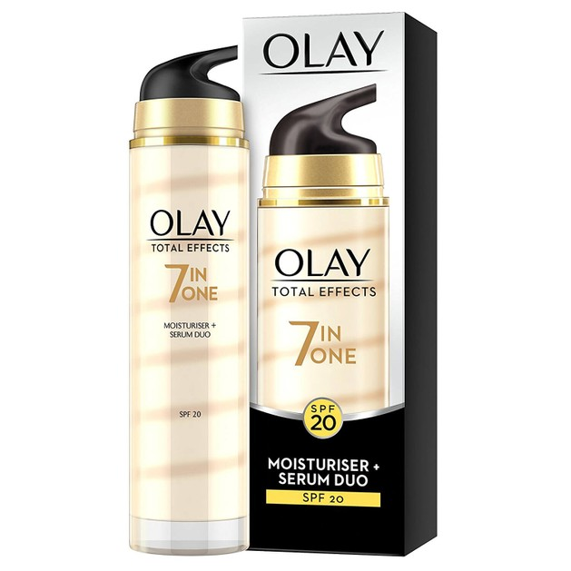 Olay Total Effects 7 in1 Moisturiser & Serum Spf20 Ενυδατική Κρέμα και Ορός 40ml