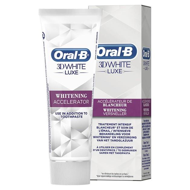 OralB 3D White Luxe Επιταχυντής Λεύκανσης 75ml