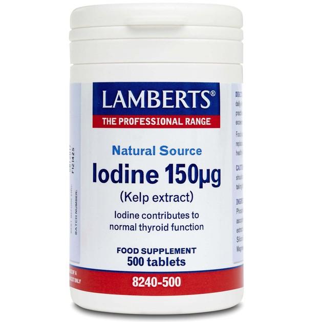 Lamberts Iodine (Kelp Extract) 150μg
