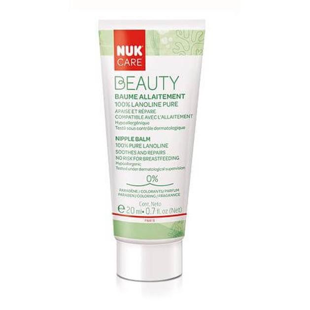 Nuk Care Beauty Κρέμα Για Θηλές Με Λιπαρή Βάση 20ml